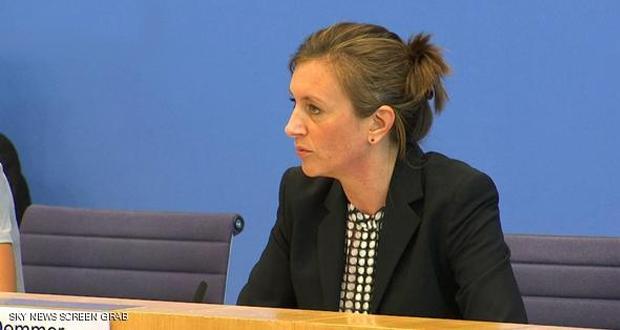متحدثة باسم الحكومة الألمانية ترفض تأكيد محادثات المستشارة مع ترامب