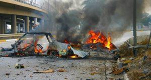 انفجار عبوة ناسفة بغداد - ارشيفية