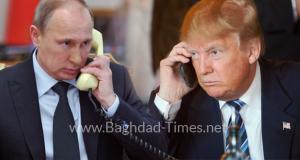 الرئيس الامريكي ترامب يتصل هاتفياً بالرئيس الروسي فلاديمير بوتين