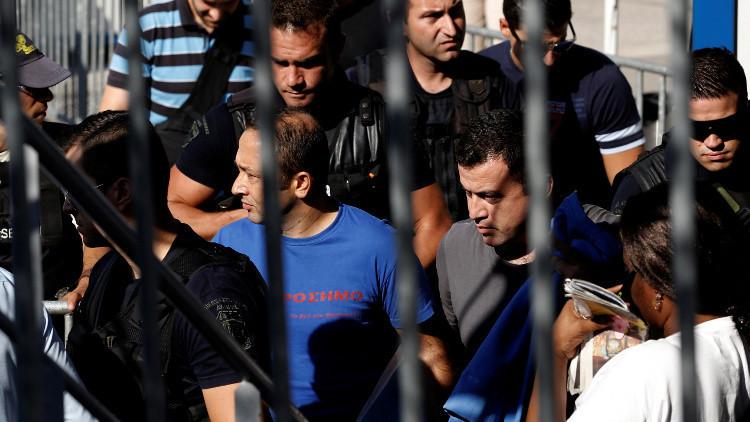 المحكمة العليا باليونان ترفض تسليم الجنود الأتراك المتهمين بالانقلاب