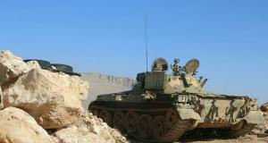 دبابة تابعة للجيش العربي السوري