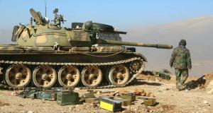 دبابات تابعة للجيش العربي السوري