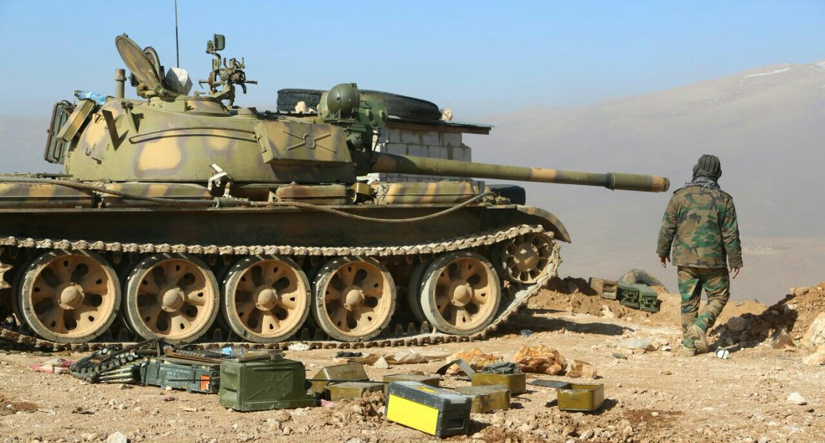 """الجيش العربي السوري يواصل تقدمه بريف حلب الشرقي ويسيطر على بلدة جناة صالح بعد معارك مع إرهابيي """"داعش"""""""