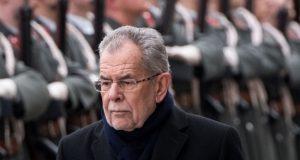 رئيس جمهورية النمسا المنتخب الجديد ألكسندر فان ديربلن