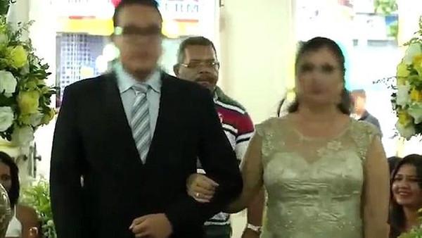 رجل يطلق الرصاص على مدعوين في حفل زفاف (+فيديو)
