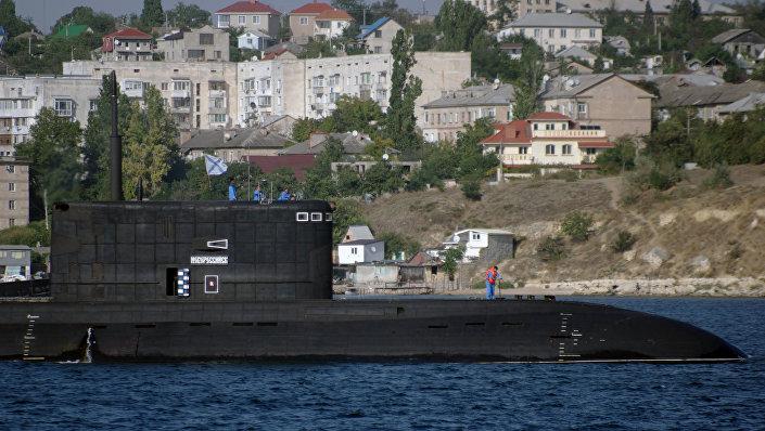غواصة نوفوروسيسك الروسية