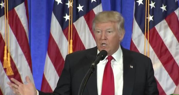 مباشر: مؤتمر صحفي للرئيس الأمريكي المنتخب دونالد ترامب