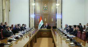 مجلس الوزراء يعقد جلسته الاعتيادية برئاسة حيدر العبادي 10 كانون الثاني 2017