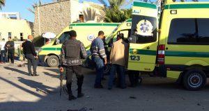 استشهاد 9 من رجال الأمن المصري في هجوم بالعريش