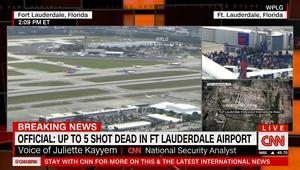 اطلاق نار في مطار فولوريدا الدولي