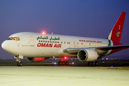 هبوط اضطراري لطائرة عُمانية كانت متجهة لألمانيا في مطار الكويت