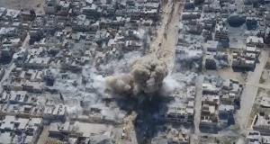 """انتحاري """"داعشي"""" يفجر نفسه وسط تجمعاً للجيش التركي في الباب"""