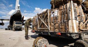 """طائرات """"أيل-76"""" الروسية توصل 17 طنا من المساعدات الإنسانية إلى سوريا"""