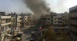 انفجار في حمص السورية سوريا مزدوج انتحاري تفجيرات
