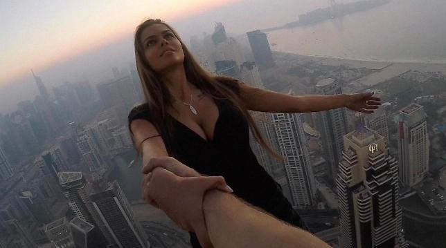 عارضة الازياء الروسية فيكتوريا أودينتسوفا (Photo: Instagram.com/viki_odintcova)