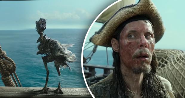 """إطلاق الفيديو التشويقي لللجزء الخامس من فيلم """"قراصنة الكاريبي"""""""
