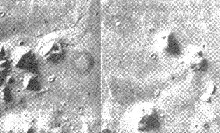مَن بِنى الأِهرامات عَلى الِمريخ؟ وثائق CIA تكشف وجود أهرامات على سطح المريخ!