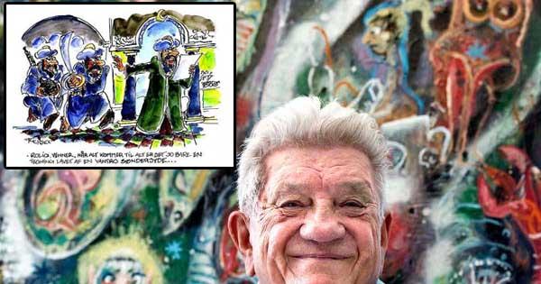 وفاة رسام كاريكاتير الدنماركي الذي أساء للنبي محمد ﷺ
