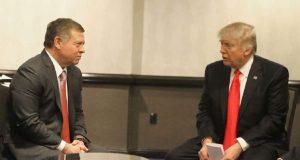 الملك الأردني عبد الله الثاني، يجتمع مع الرئيس الامريكي دونالد ترامب في واشنطن - 4 شباط