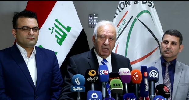 حنين قدو (نائب رئيس لجنة الهجزة والمهجرية في مؤتمر صحفي ببغداد - 5/آذار/2017