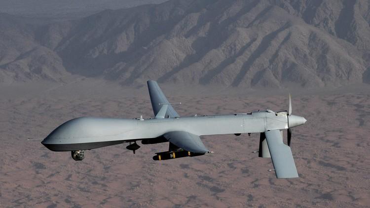 طائرة أمريكية بدون طيار تقصف موقعاً تابعاً لحركة طالبان شمال أفغانستان