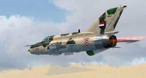مقاتلة سورية من طراز ميغ-21 - ارشيفية