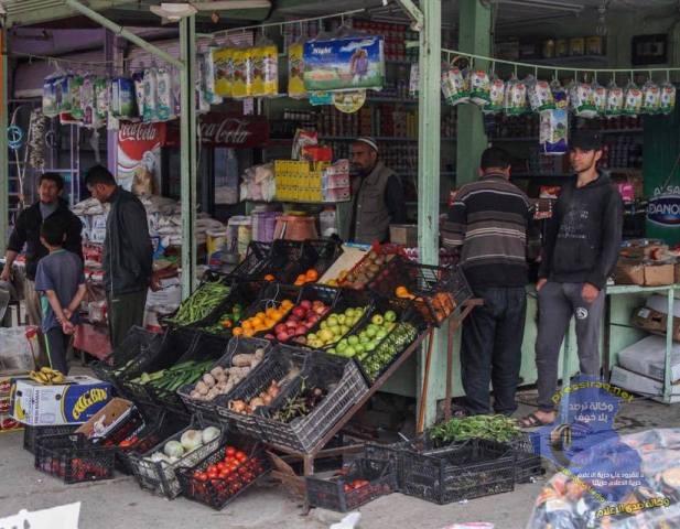 عودة الحياة وفتح المحال التجارية والمقاهي في الجانب الايسر من الموصل