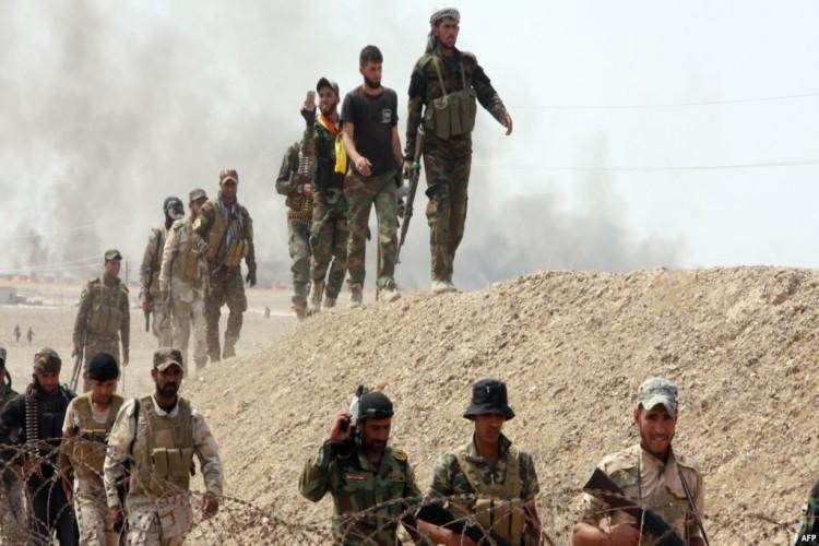 قوات الحشد الشعبي تنهي تفتيش 28 قرية في أعالي الفرات خلال 48 ساعة