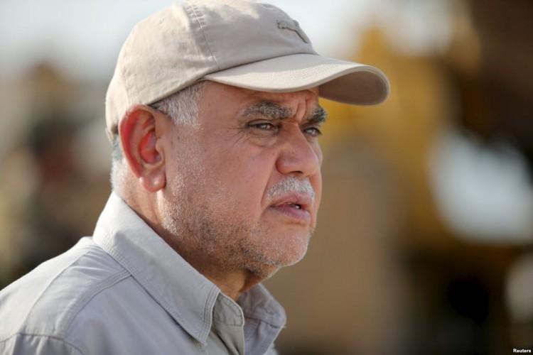 """العامري يعلن قتل المسؤول العسكري لمجرمي """"داعش"""" في ديالى"""