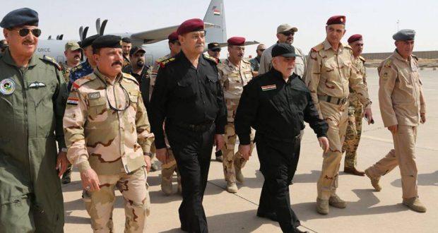 حيدر العبادي في مدينة الموصل المحررة - 9/تموز/2017 (Photo: Baghdad-Times.net)