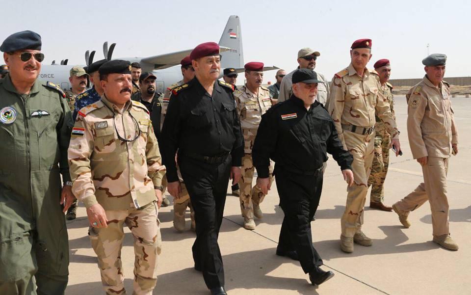 صور حصرية .. حيدر العبادي يصل مدينة الموصل المحررة #بغداد_تايمز_الأولى