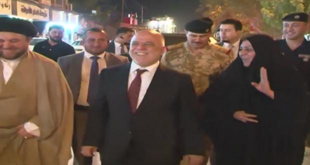 بالفيديو: جولة رئيس مجلس الوزراء حيدر العبادي في مدينة بابل