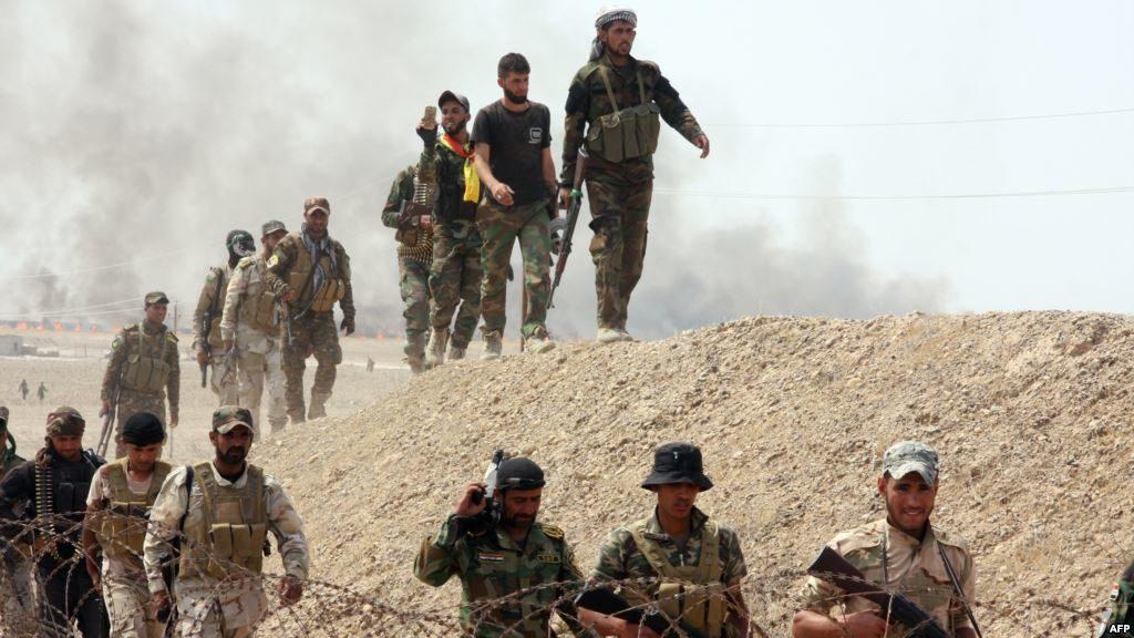 الحشد يطلق عملية عسكرية باسم ''شهداء القائم'' جنوب الموصل