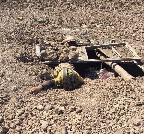 العثور على 3 اوكار لداعش في كركوك