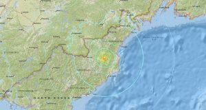 زلزال في كوريا الشمالية