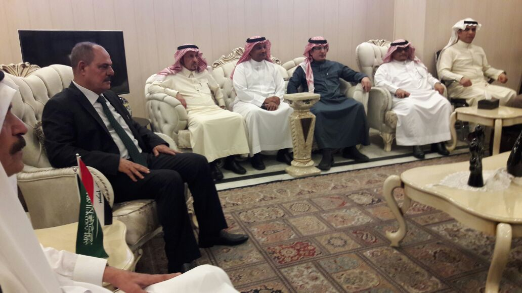 وصول وفد إعلامي سعودي رفيع المستوى الى بغداد بعد انقطاع اكثر من 28 عاما
