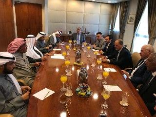 رئيس غرفة تجارة الكويت يؤكد لنقيين الصحفيين العراقيين والوفد الإعلامي: مؤتمر الكويت سيثبت وجود استقرارا في العراق