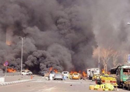 معصوم يعزي نظيره الأفغاني بضحايا التفجير الارهابي في كابول