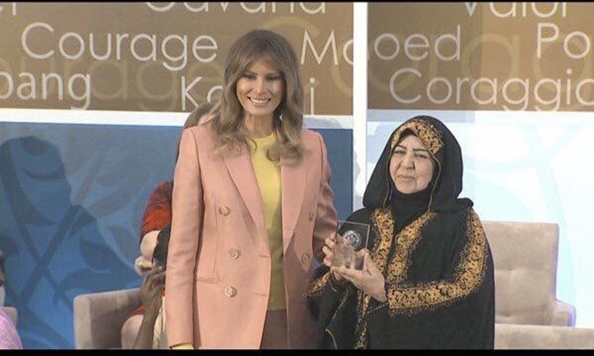 عراقية من أشجع عشر نساء في العالم .. تكرّم من قبل وزارة الخارجية الامريكية