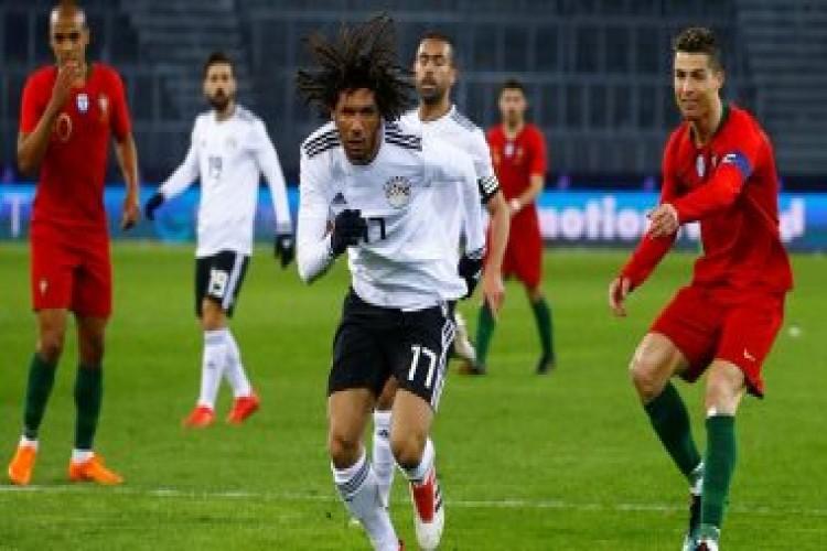 رونالدو يقود البرتغال لفوز صعب أمام المنتخب المصري