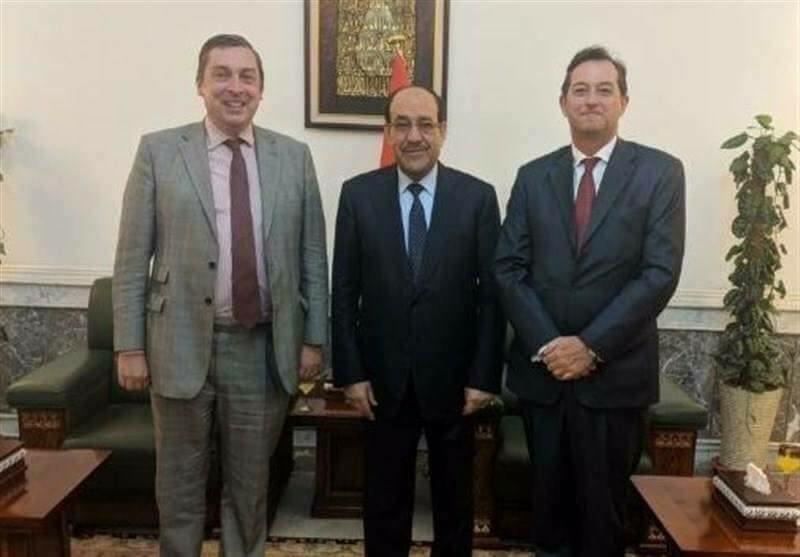 """السفيرين البريطانيين في ايران و العراق يلتقيان على انفراد وفِي يوم واحد """" نوري المالكي و هادي العامري و عمار الحكيم"""""""