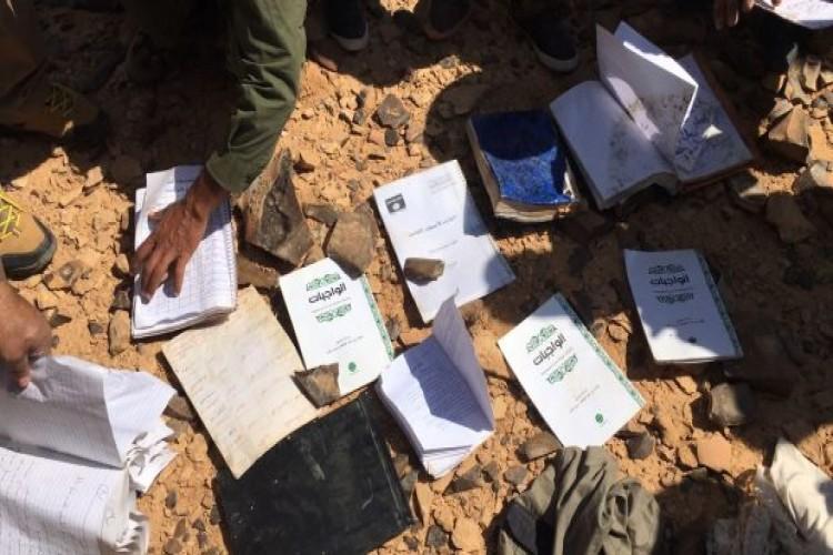 """القوات الأمنية تعثر على معسكر تدريب ومضافات لـ """"داعش"""" غربي الانبار"""