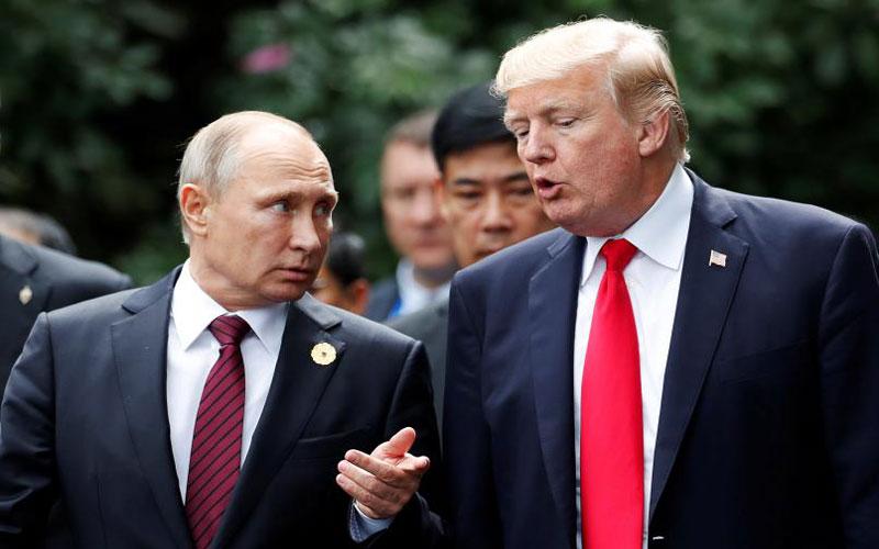 الكرملين يكشف عرض ترامب على لقاء بوتين في البيت الأبيض