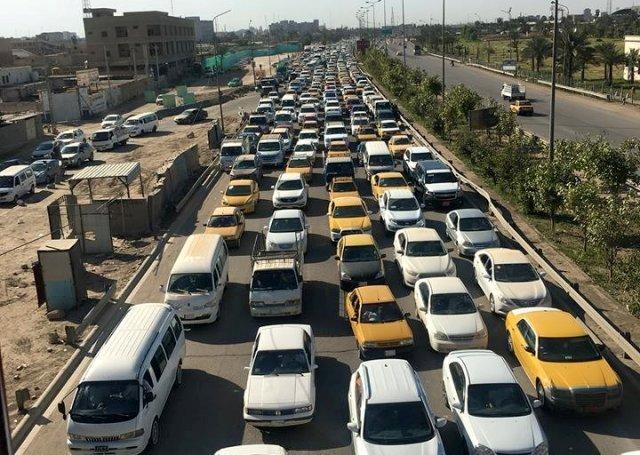البصري تدعو امينة بغداد لتنفيذ أعمال صيانة الجسور واكساء الطرق بأوقات مسائية