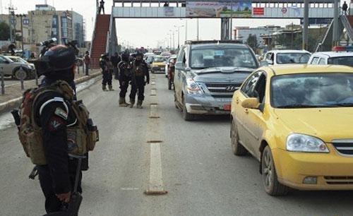 القوات الأمنية تباشر بفتح أغلب الطرق المغلقة بسبب زيارة الإمام الكاظم (ع) في بغداد