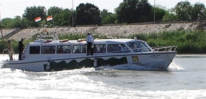 النقل تعلن افتتاح الخط النهري بين منطقتي الأعظمية والجادرية