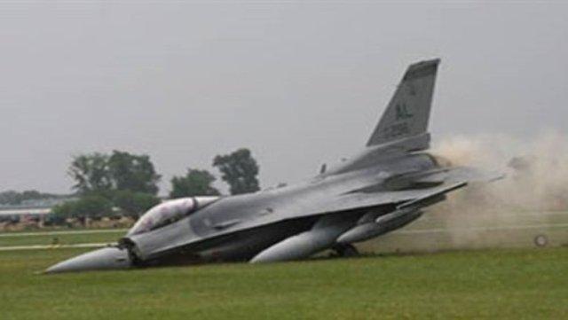 تحطم ثلاث طائرات أمريكية  F-16 خلال يومين