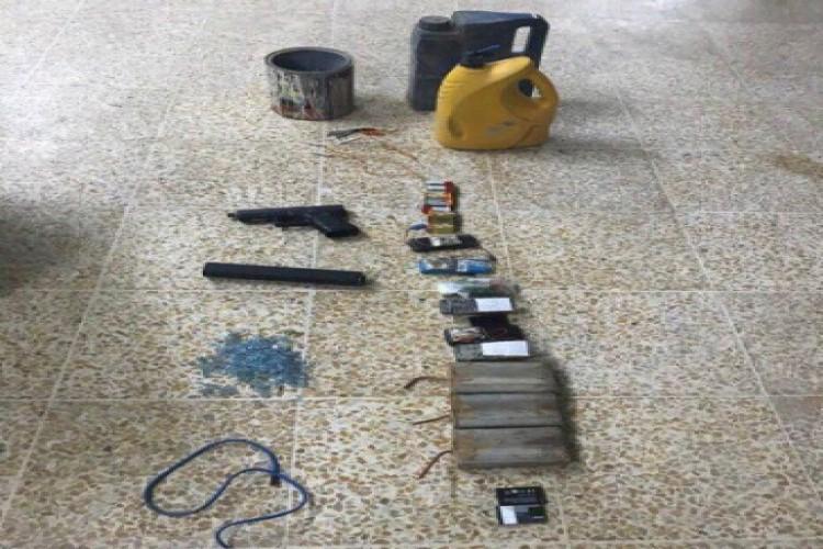 الداخلية تعلن ضبط ورشة لتصنيع العبوات وكواتم الصوت في الموصل