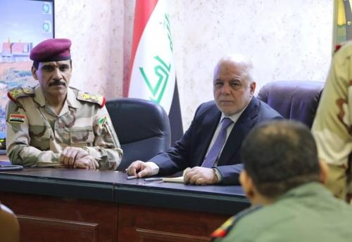 العبادي يصدر عدد من التوجيهات لتأمين الحدود العراقية