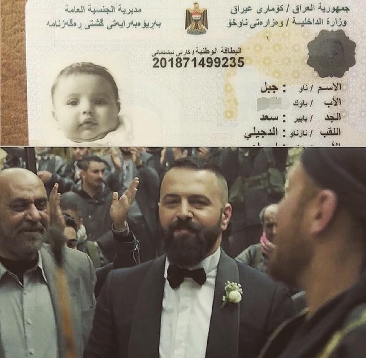 """تعرف على السبب الذي جعل الفنان السوري """"تيم حسن""""ينشر البطاقة الوطنية لمواطن عراقي على حسابه الشخصي بالانستقرام"""
